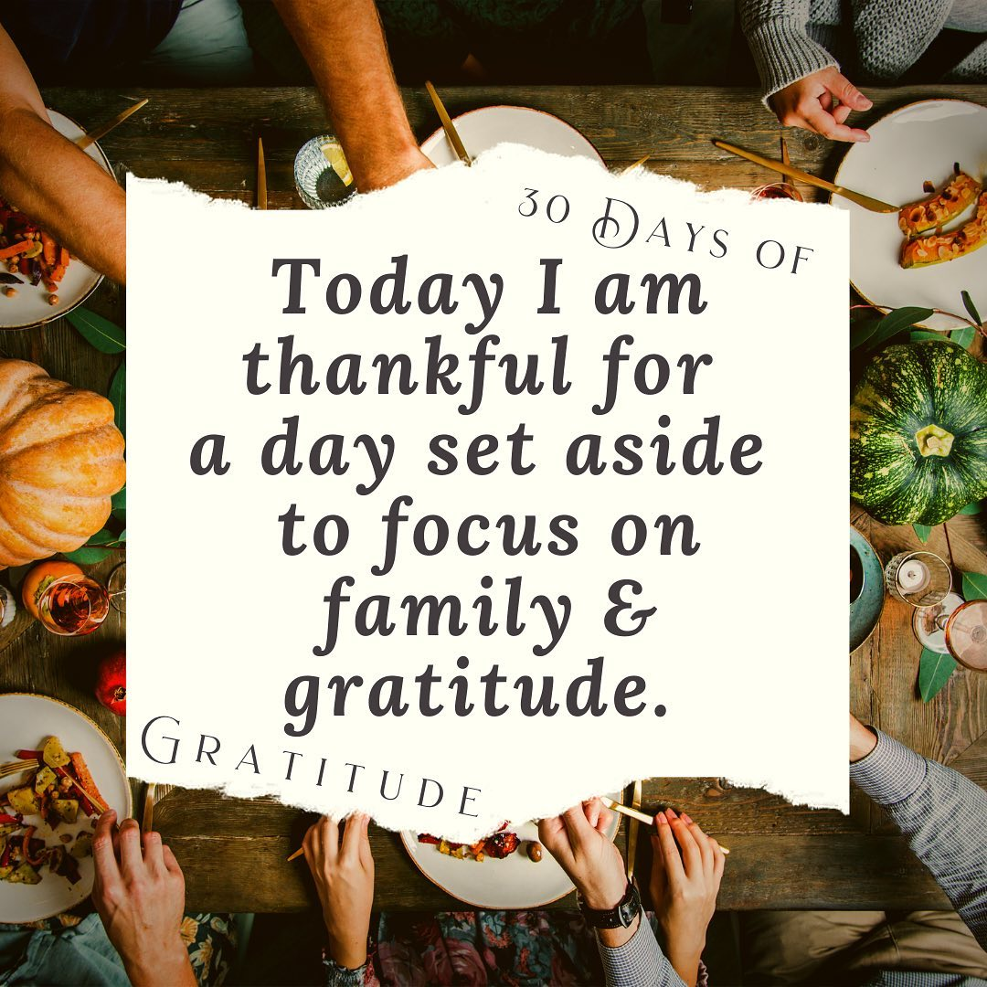 Happy Thanksgiving to you and yours. We hope your day is blessed!