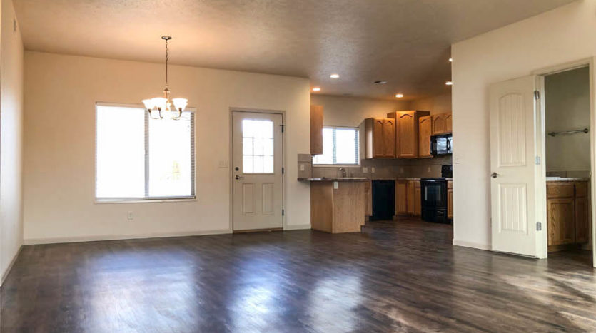 Dining room and kitchen of 2996 Osprey Way