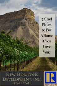 Wine Country Living - 7 Cool Places to Buy A Home if You Love Wine!