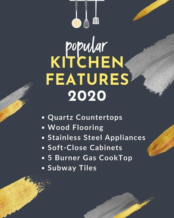 Now that we are a month into 2020, (seriously, where DID January go?) here is a short list of some of the popular kitchen features that homebuyers are looking for.⁣ ⁣ We have seen the subway tile trend expand a bit – larger tiles (think 4″ x 12″) or smaller tiles set in a herringbone or chevron pattern have been very popular here in Western Colorado.⁣ ⁣ What are your favorite housing trends?
