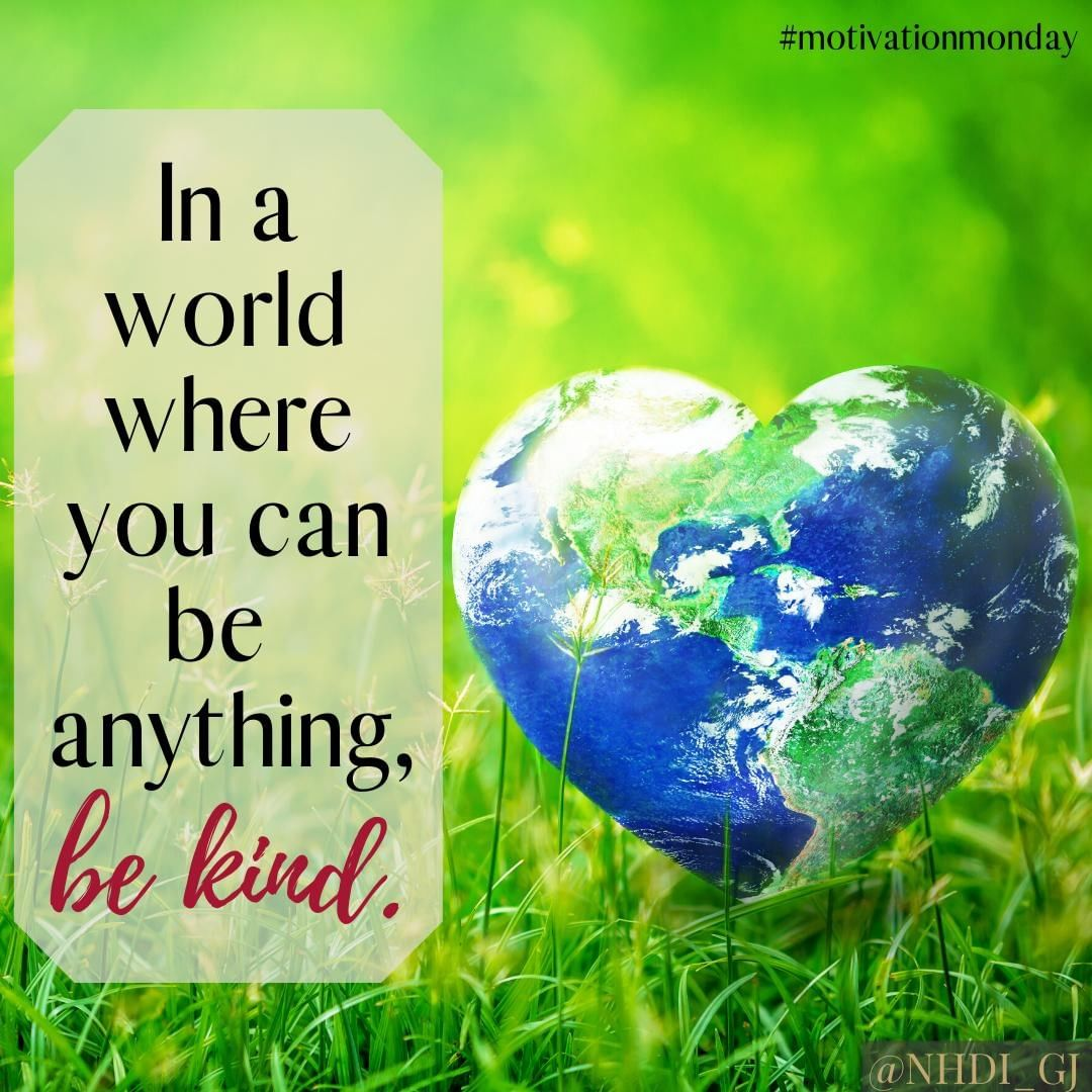 In a world where you can be anything, be kind.  Happy Random Acts Of Kindness day! Do something today to show kindness to someone else – I promise you will be blessed too!   #RandomActsOfKindness #mondaymotivation #startyourweek #motivationalmondays #startyourdayright #womenwhohustle #opportunityknocks #nhdi #begintoday #ownit #inspire #inspiration #motivational #keepmotivated #quotes #motivationalquotes #bekind #bekindalways #blessings