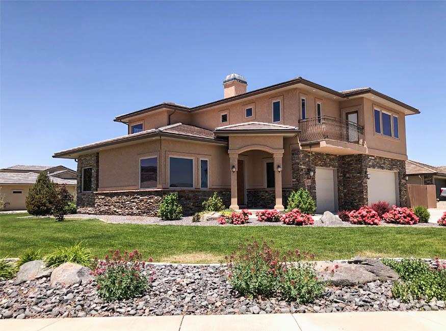 1485 Adobe Falls Way is a 4 bedroom, 2.5 bath home in Adobe Falls Subdivision.