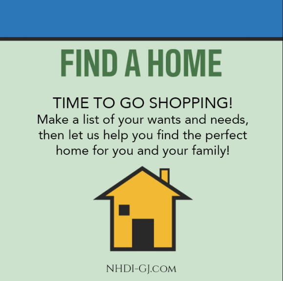 Find Your Home! It's time to go house shopping!