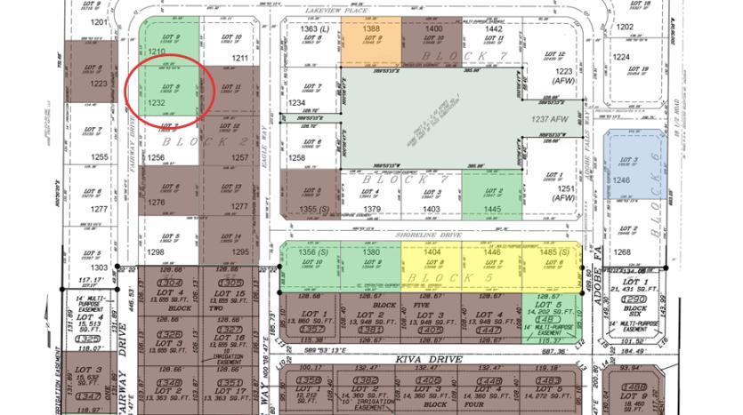 1232 Fairway Drive is a ⅓ acre vacant lot in Adobe Falls Subdivision in Fruita, Colorado