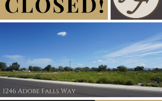 1246 Adobe Falls Way, Fruita has closed! Welcome to the neighborhood!