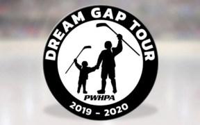 A PWHPA anuncia a criação de mais um projeto para incentivar o hockey feminino: a Dream Gap Tour, que irá acontecer em várias cidades do Canadá e nos EUA.