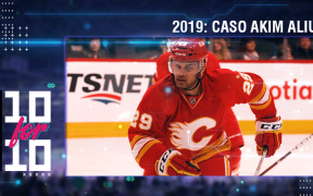 Akim Aliu no Calgary Flames