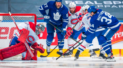Toronto Maple Leafs leads series against Montreal Canadiens