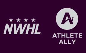 NWHL anuncia parceria com Athlete Ally em apoio à comunidade LGBTQIA+
