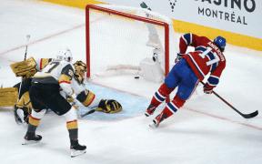 Vegas e Montreal ainda empatados na série de semifinal