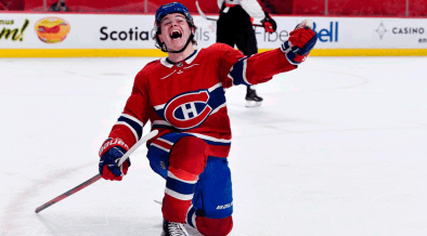 Montreal Canadiens and Winnipeg Jets in the second round