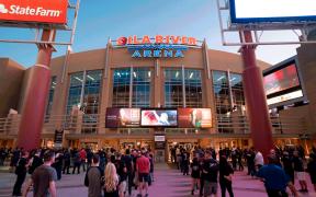 Gila River Arena, atual casa do Arizona Coyotes