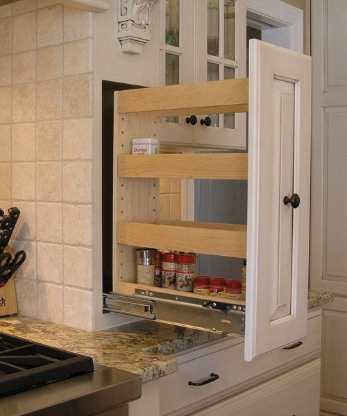 how to add a pullout spice rack new