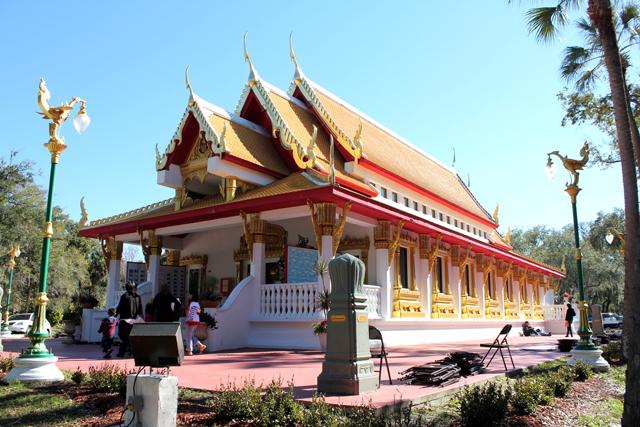 Thai Temple in Tampa, Florida