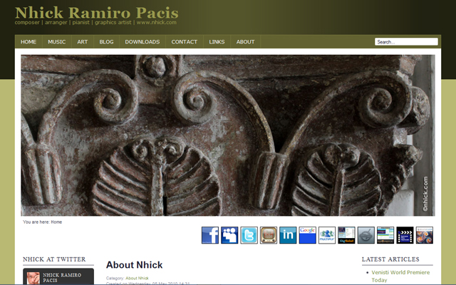 New Web Design For 2012