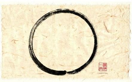 KHÔNG – Thư pháp của Thầy Thích Nhất Hạnh