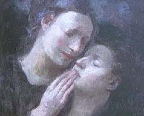 Painting by Khalil Gibran. Photo: Internet