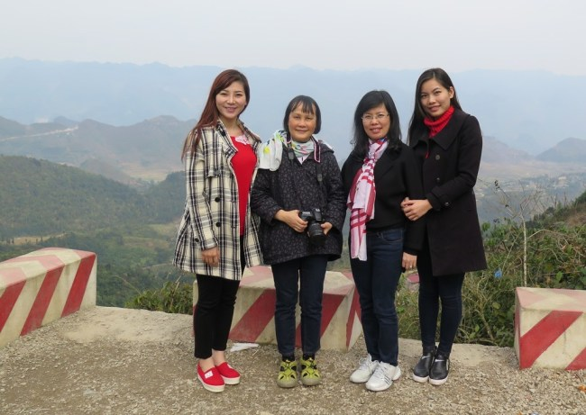 Cổng Trời Quản Bạ- Thao, Mai, Huong, Ha