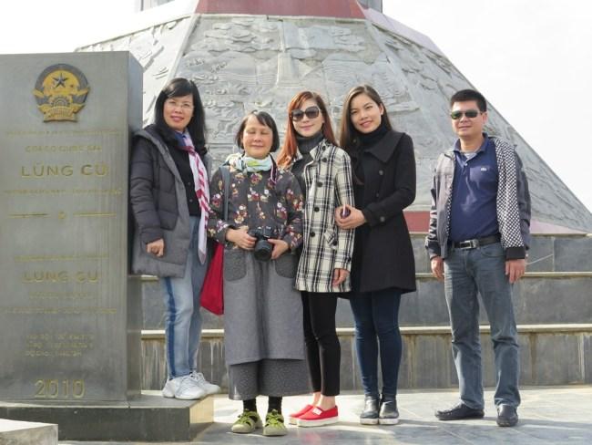 Cột cờ Lũng Cú – Huong, Mai, Thao, Ha, Tien
