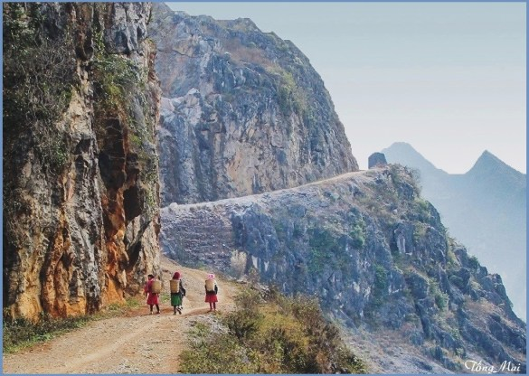 Nét quê hương nghìn năm vẫn là. Photo: TongMai