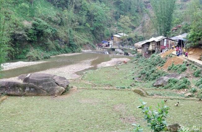 Bản làng Cát Cát. Photo: TốngMai