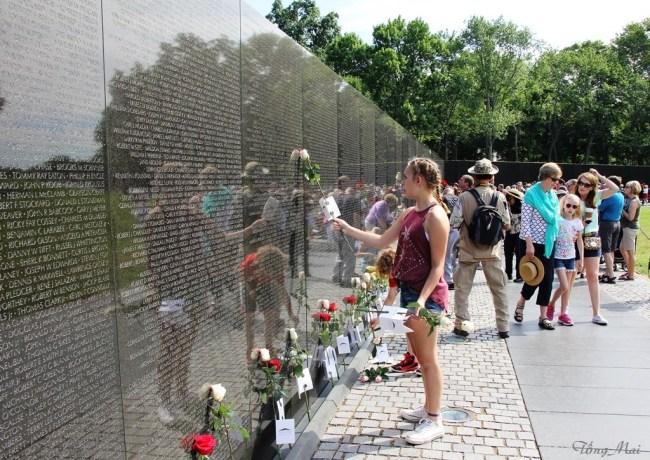 Mai 2016 - DC walk - VN Memorial 1h p