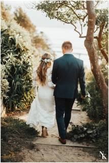 Barefoot California Beach Bridals-elopement