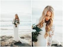 Barefoot California Beach Bridals-elopement