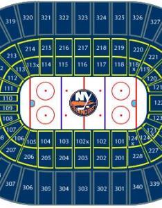New york islanders seating chart also nhl hockey arenas nassau veterans memorial coliseum home of the rh nhlhockeyarenas