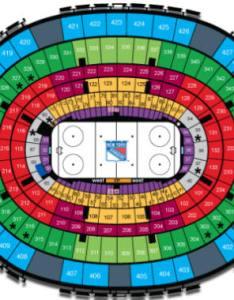 New york rangers seating chart also nhl hockey arenas madison square garden home of the rh nhlhockeyarenas