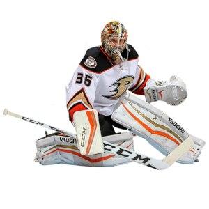 Anaheim Ducks John Gibson Fathead Life Size Removable Wall Decal