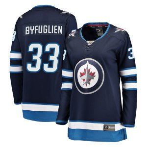 Women's Winnipeg Jets Dustin Byfuglien Fanatics Branded Navy Breakaway Jersey