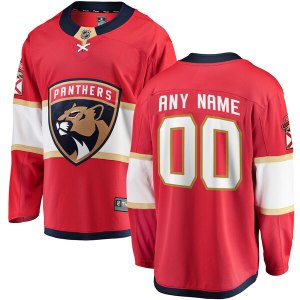 Youth Florida Panthers Fanatics Branded Red Home B wholesale replica Panthers jersey
