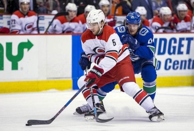 Noah Hanifin trade rumors