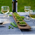 Spring Recipe: Pea Crostini