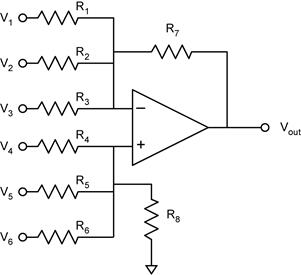 circuit diagram of non inverting amplifier 99 jeep xj wiring l a bumm phys2303 notes on operational amplifiers op amps v1 2 what can we say about such complicated looking don t panic use have learned from the above analyses to painlessly arrive at