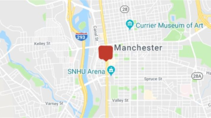 snhu arena map