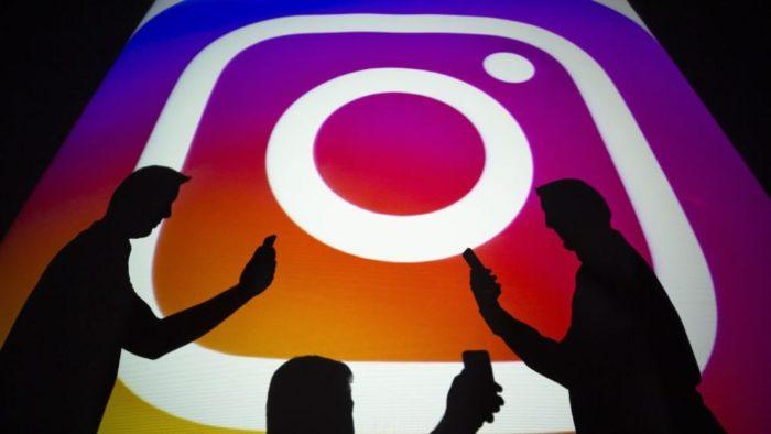 instagram logo phone reuters