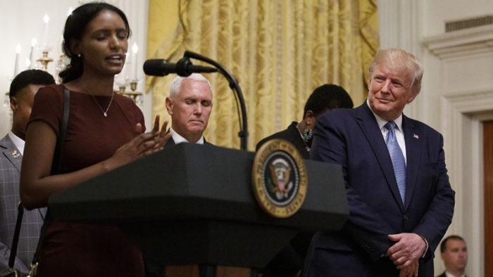 Black Leadership Summit Trump 2 AP