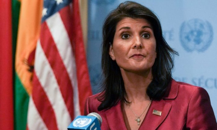ambassador to the United Nations Nikki Haley 700x420