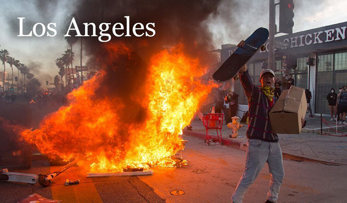 Rioting across the nation leaves cities reeling as hundreds arrested, National Guard called in, businesses damaged and at least 3 dead