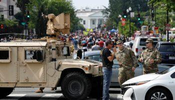 Washington Braces as George Floyd Protests Begin
