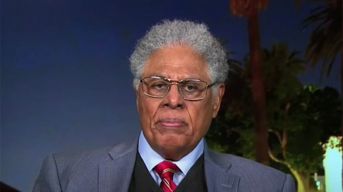Thomas Sowell tells Mark Levin left-wing ideology 'falls apart like a house of cards' when you demand facts