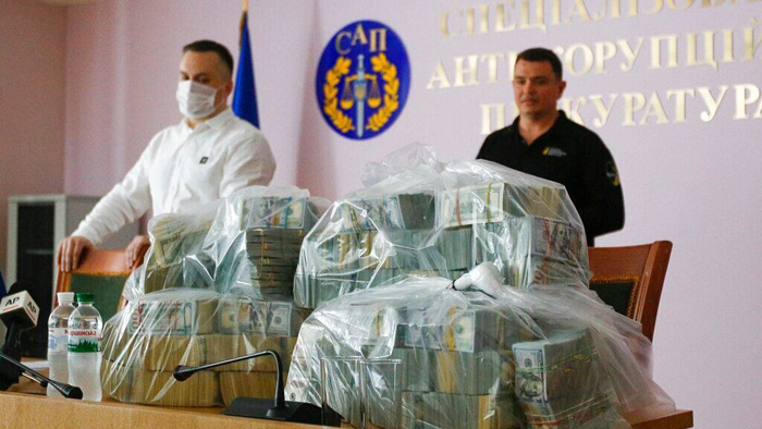 Massive bribe to stop Ukraine probe of Burisma founder intercepted