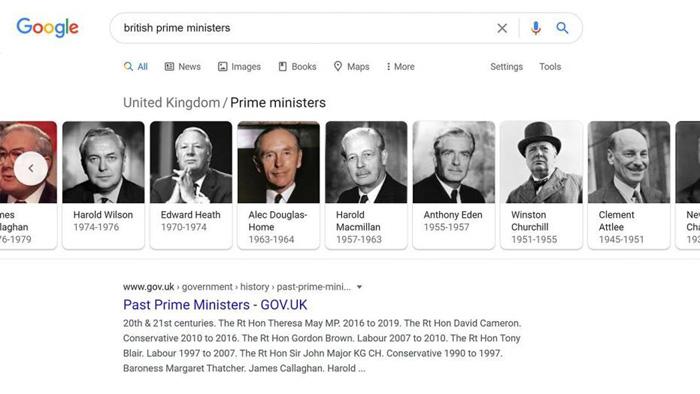 Google glitch hides Winston Churchill image from search results