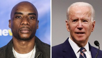 Charlamagne Tha God says Biden should 'shut the eff up forever' after calling Trump 'first' racist POTUS