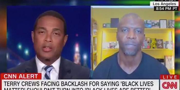 CNN's Don Lemon scolds Terry Crews, says Black Lives Matter is about police brutality, not Black-on-Black violence