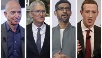 Big Tech on Capitol Hill: Facebook, Amazon, Google, Apple CEOs set to testify in antitrust hearing
