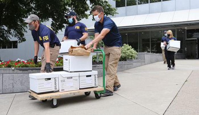FBI agents raid Cleveland offices at building connected to Ukrainian oligarch