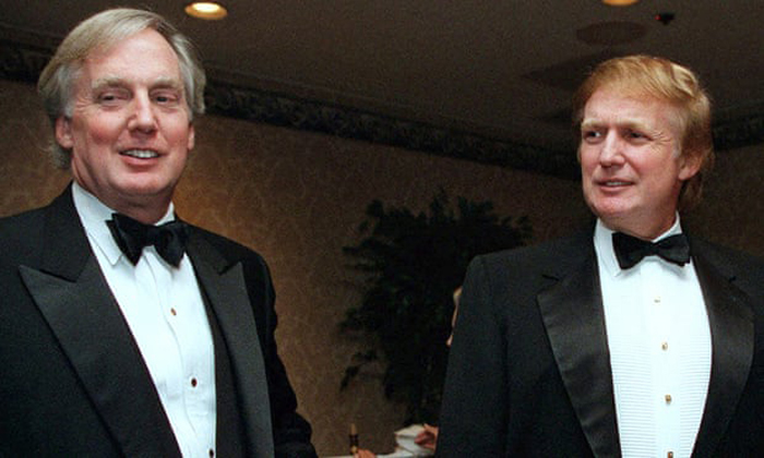 Robert Trump: brother of president Donald Trump dies aged 71
